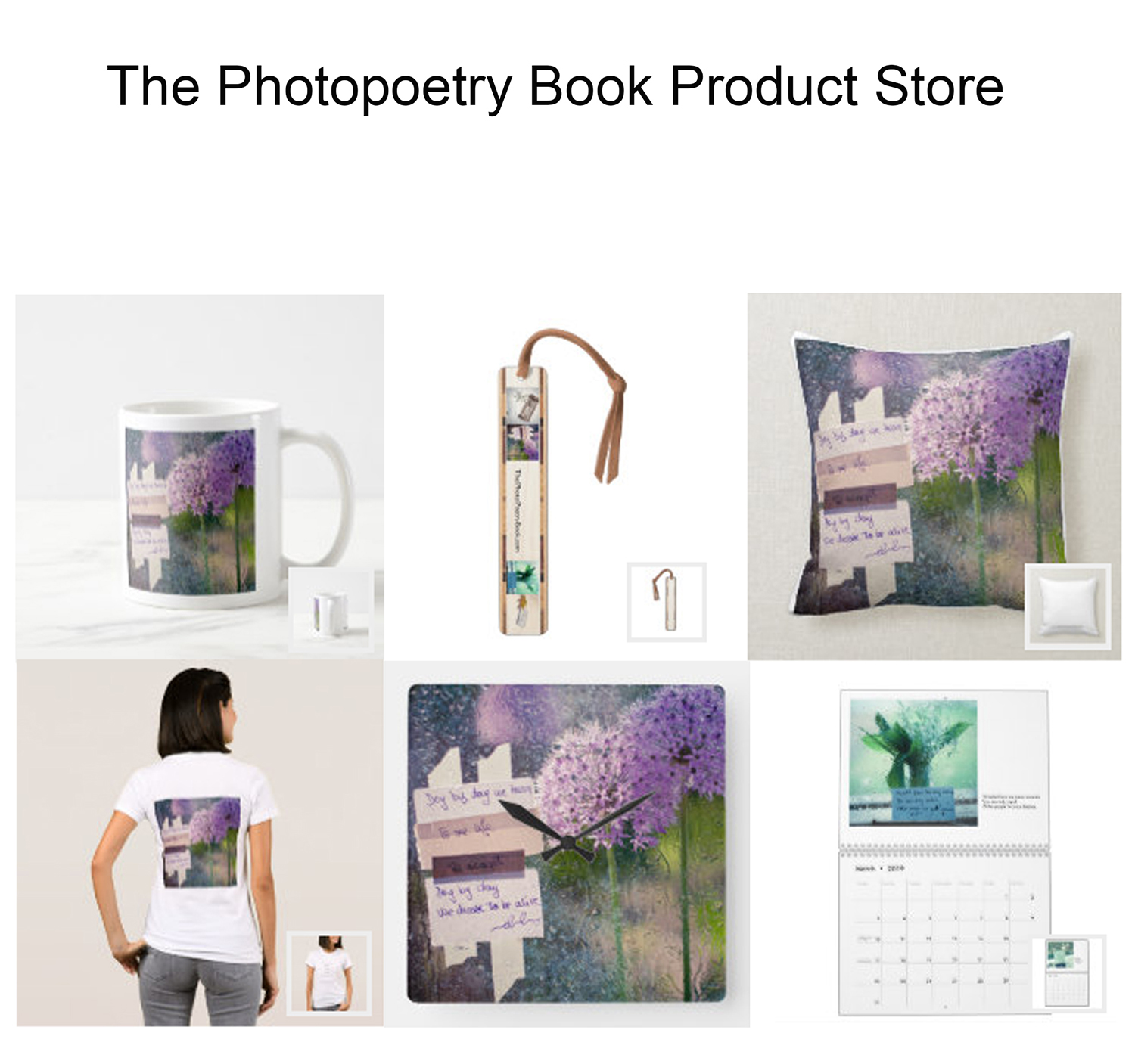 The Photopoetry Book Product Store