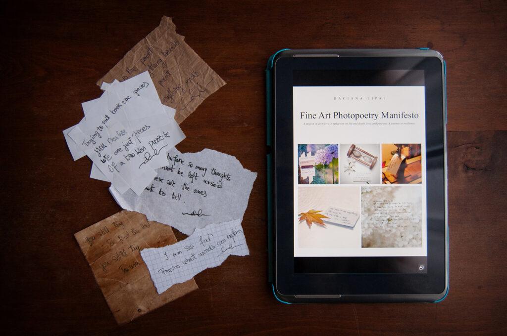 Fine Art Photopoetry Manifesto