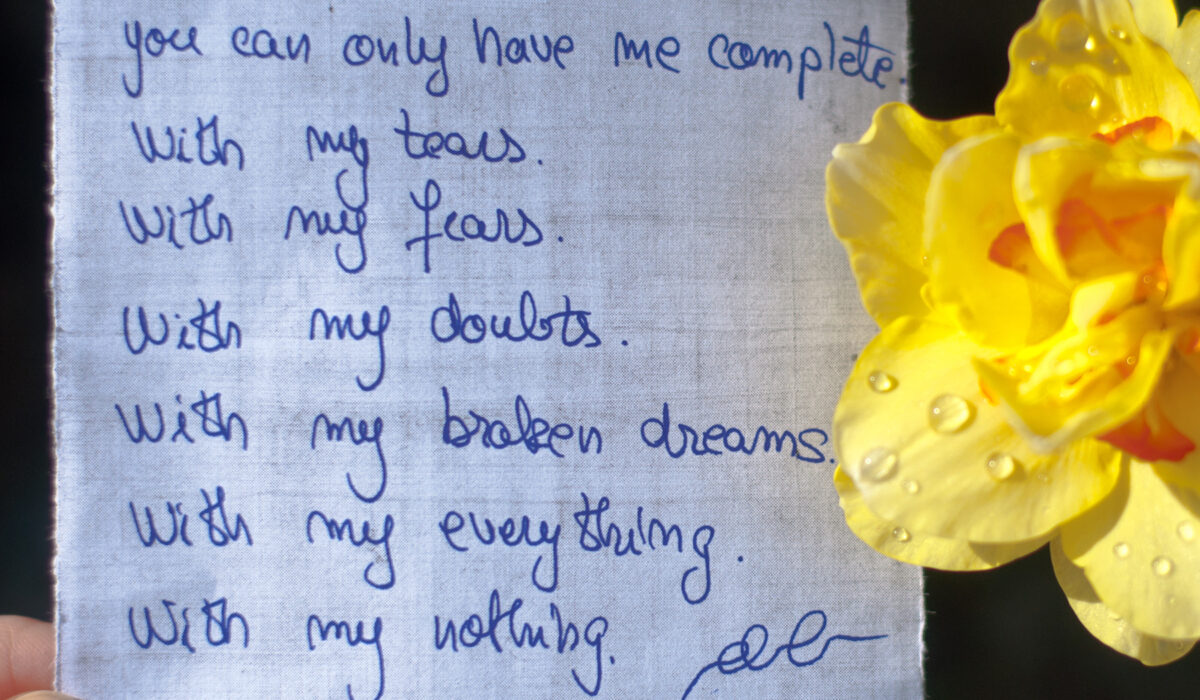 The Photo Poetry Book ~ a year of 366 days of PhotoPoetry ~ Day 102 - Complete