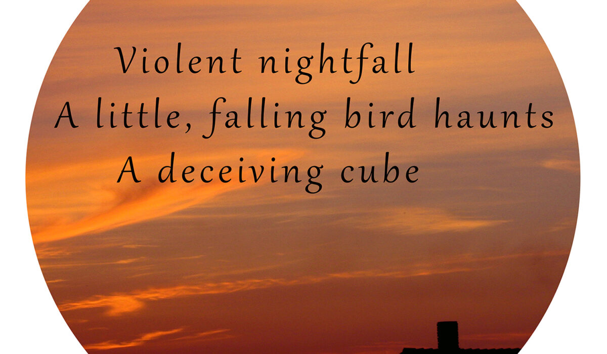 A Photohaiku - Haiku 10 - Nightfall