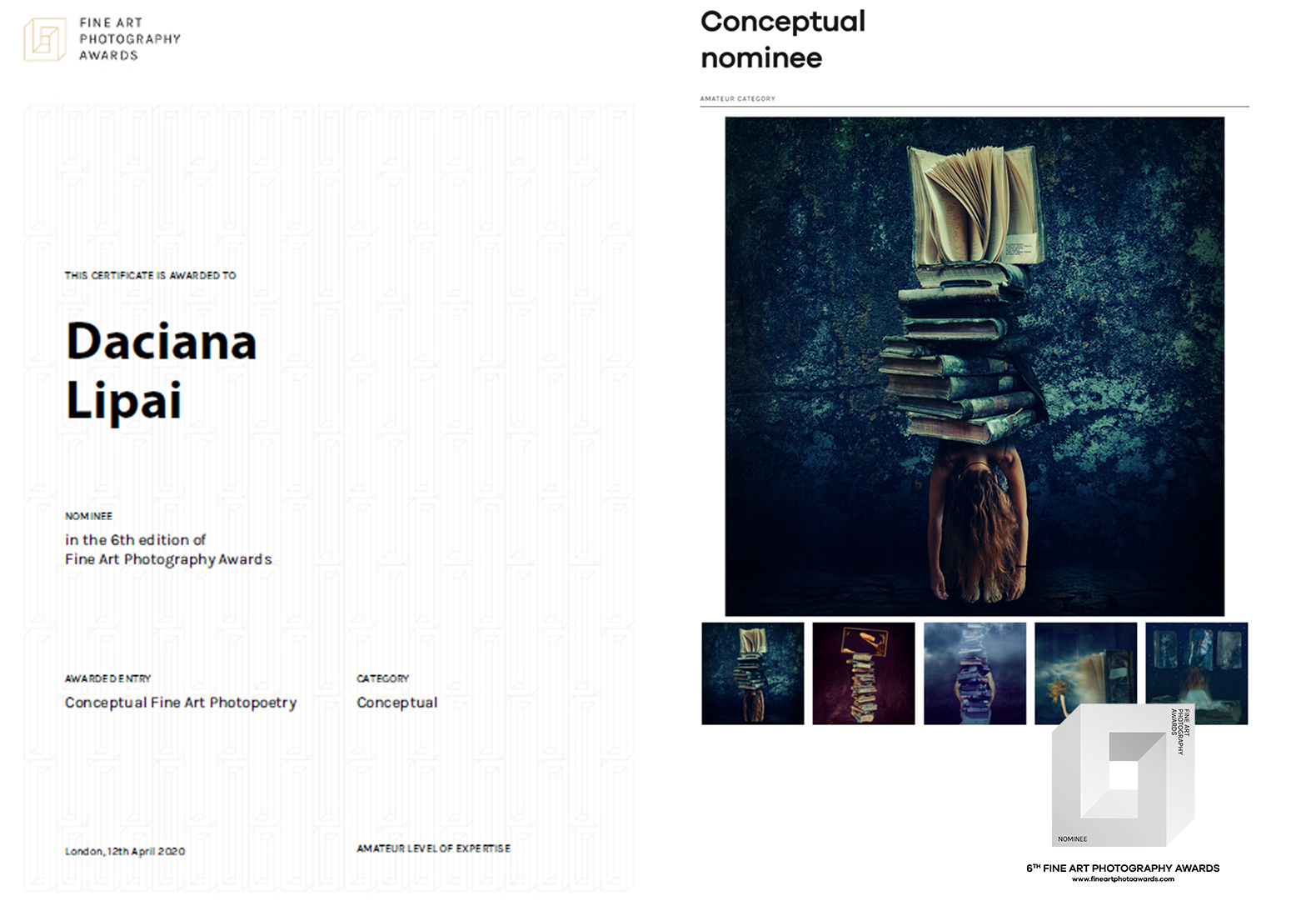 Daciana Lipai Isolation 6th FAPA Awards