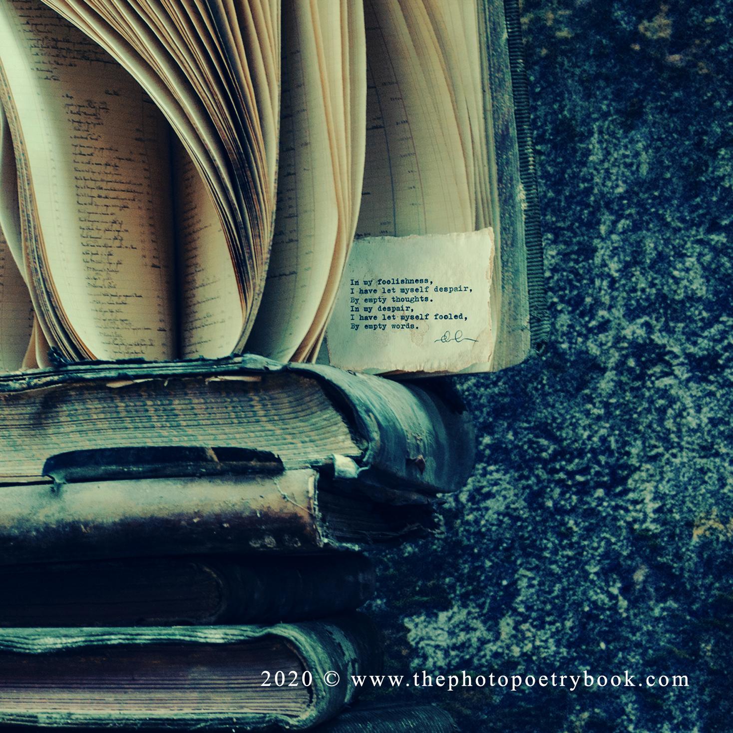 Daciana Lipai - Burdeden a Photopoem - Isolation Series