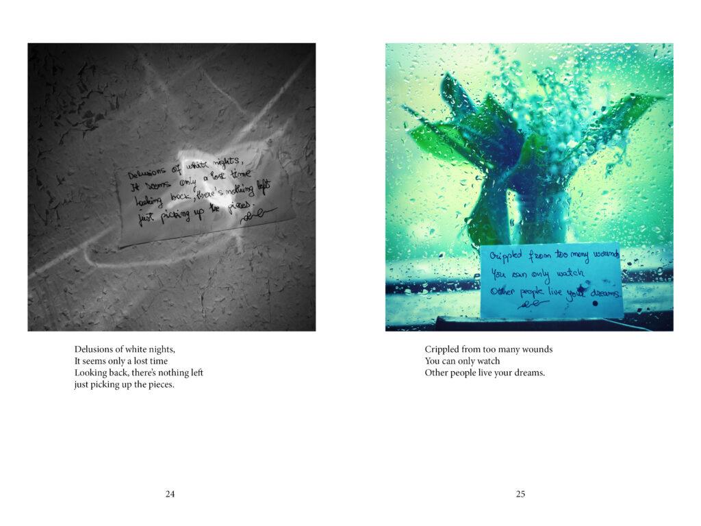 Daciana Lipai - Turning Black into Color - Photopoems for the brokenhearted