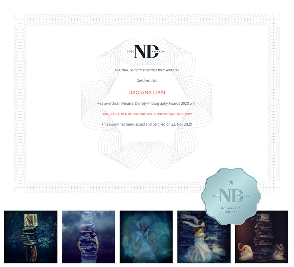 Daciana Lipai Isolation ND Awards