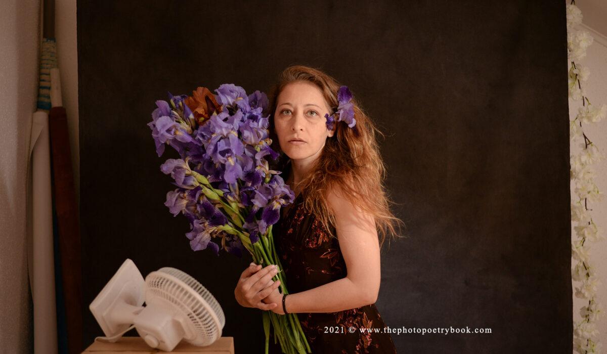 Daciana Lipai Behind the Scenes with Irises
