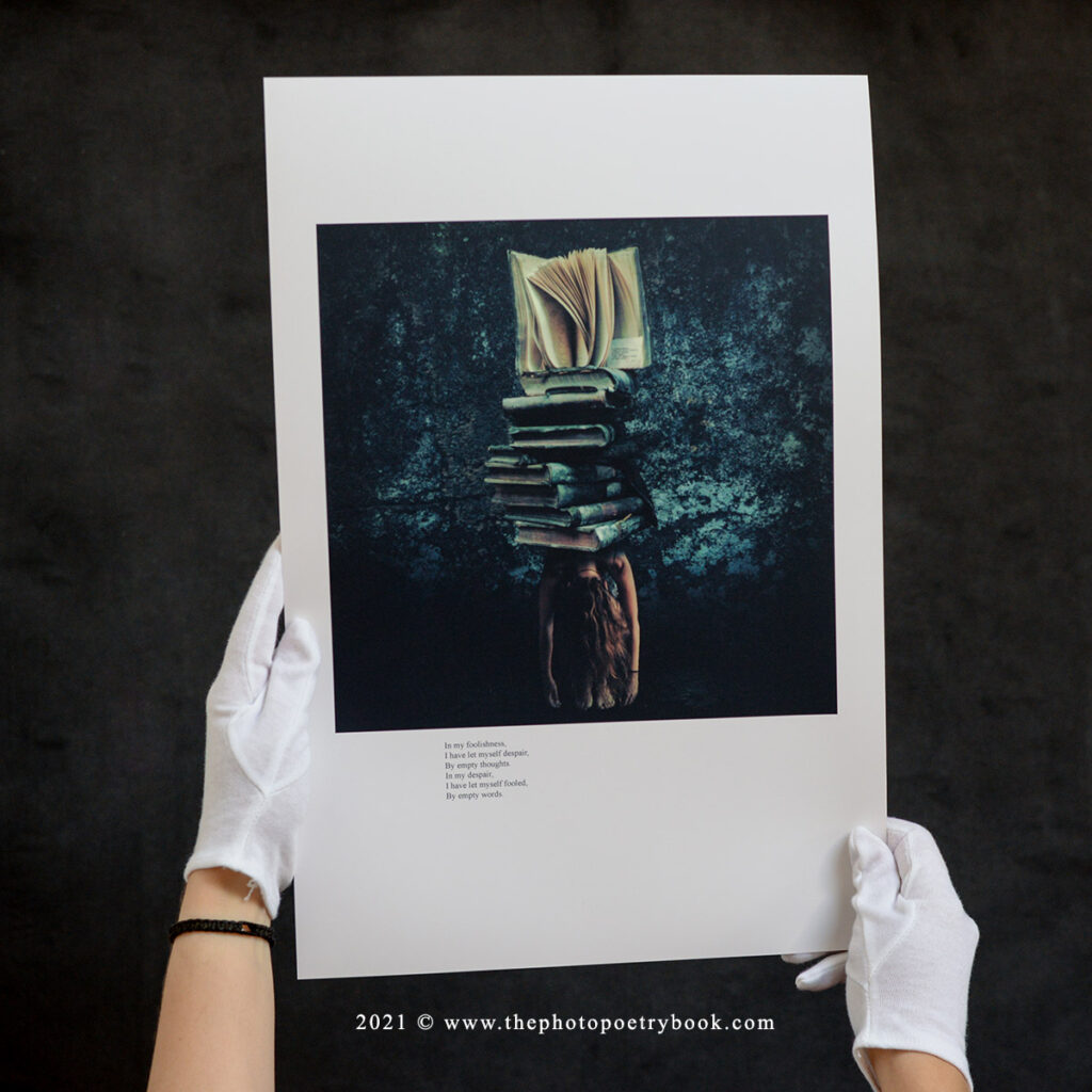 Daciana Lipai Burdened Fine Art Print
